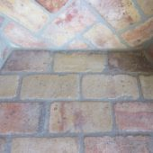 Reclaimed Antique Firebrick | Interior Top Chimney